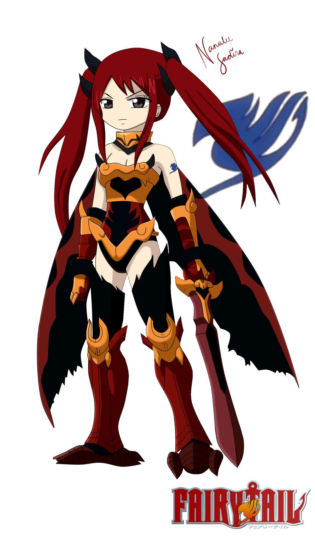 Flame Empress Erza Scarlet Flame Empress