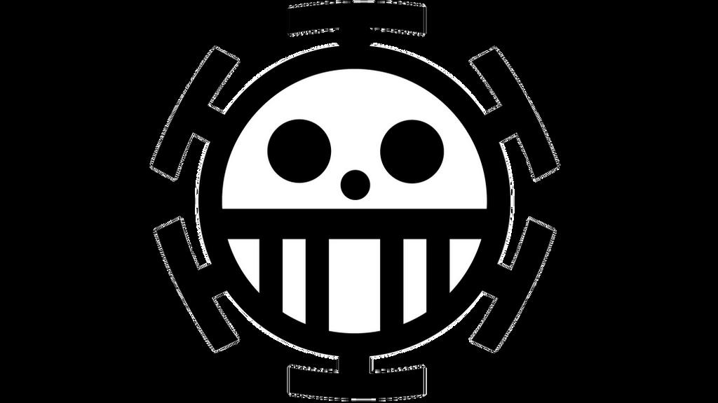 Trafalgar Law Pirate Symbol Vector By Spister On Deviantart