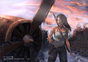 Tomb Raider by leomeza
