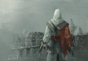 Ezio assassins creed by leomeza