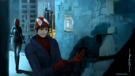SpiderMan Manga version