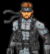 Phoenix Wright Snake by X-Gamer-66