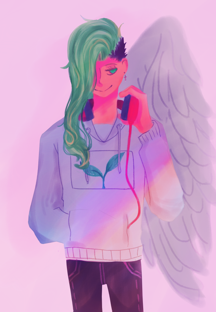 the angel (?) by hotuonghan2001
