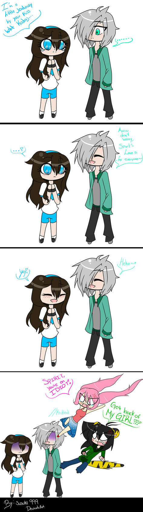 Susuki jealousy by susuki999