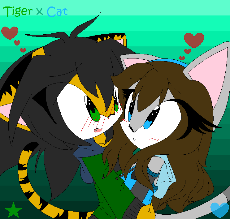 [REMADE]Tiger x Cat by susuki999