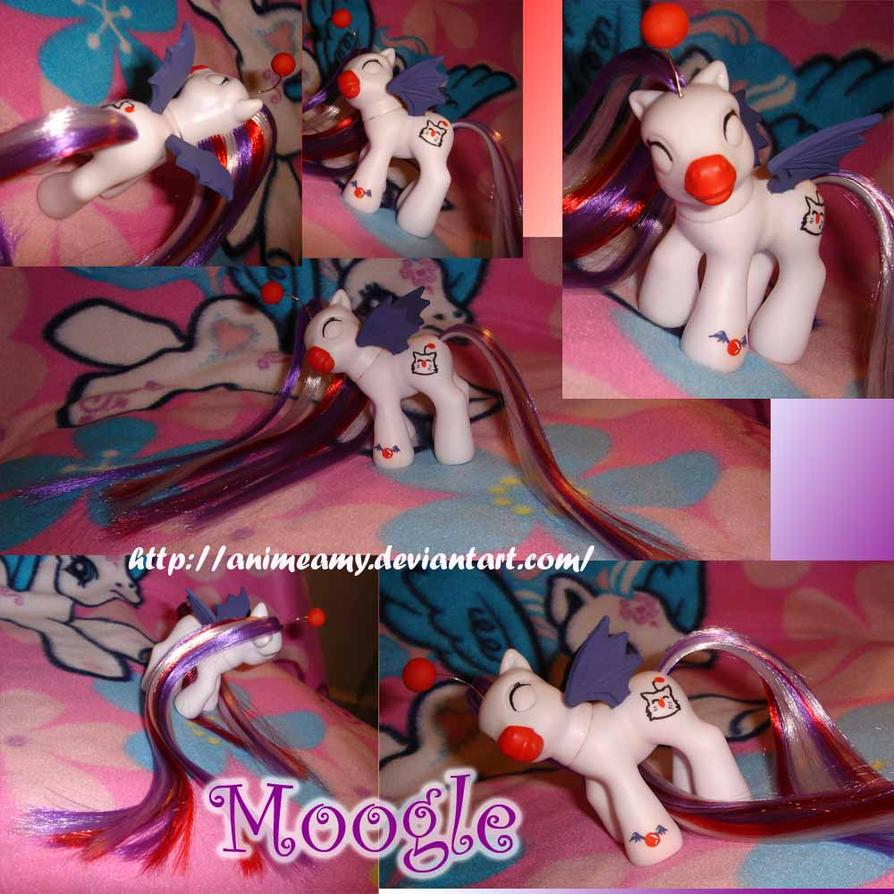 Moogle Pony by AnimeAmy