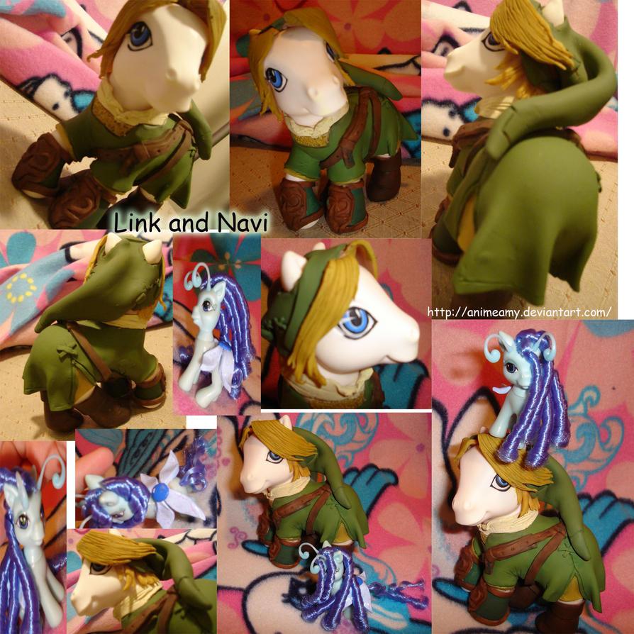 Twilight Princess Link n Navi by AnimeAmy