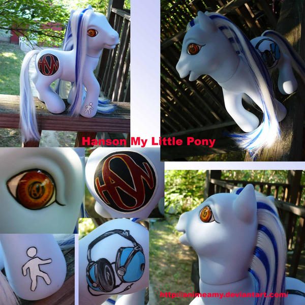Hanson My Little Pony Custom by AnimeAmy
