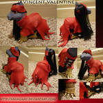 Vincent Valentine Custom Pony
