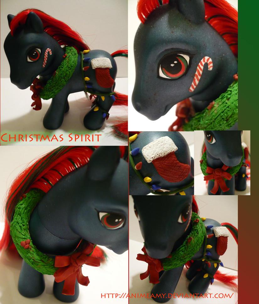 Christmas Spirit by AnimeAmy