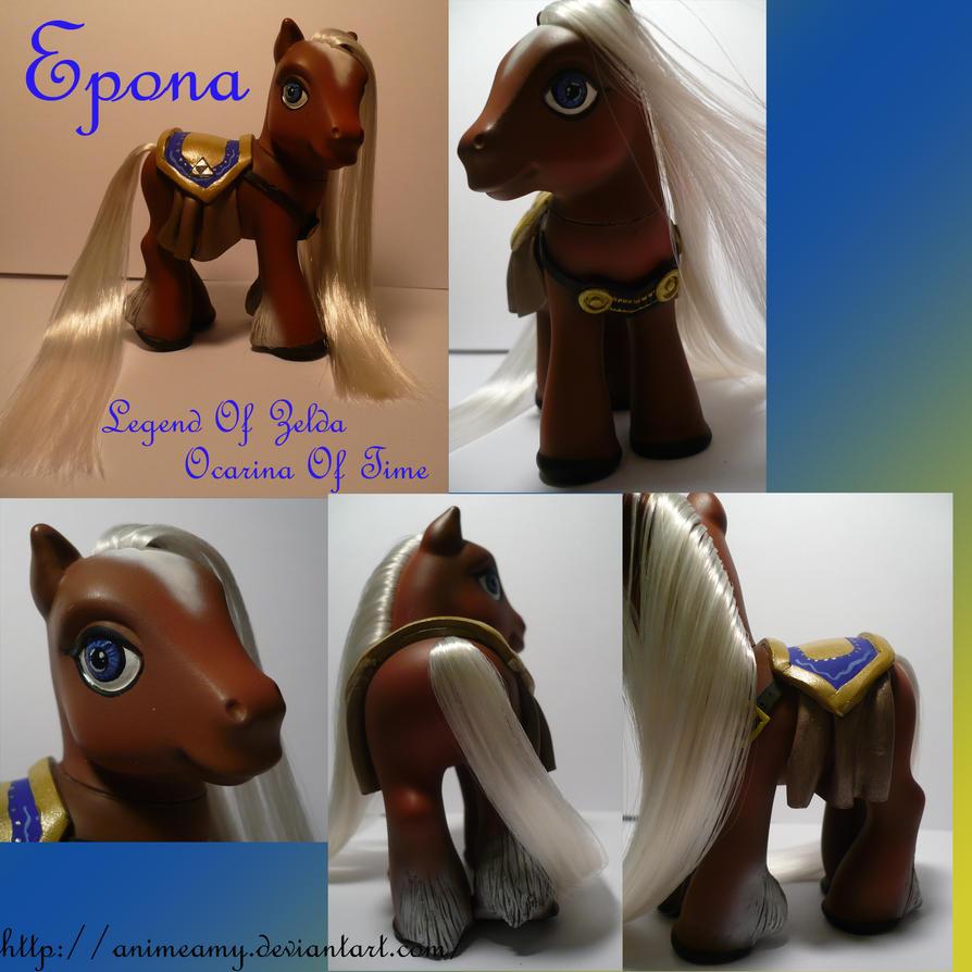 Epona Legend of Zelda by AnimeAmy