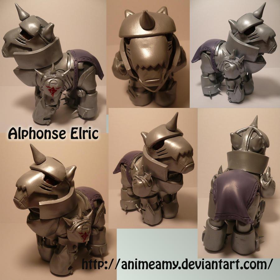 Alphonse Elric Pony by AnimeAmy