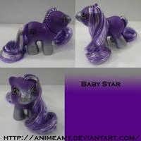 Baby Kanji Pony Star by AnimeAmy