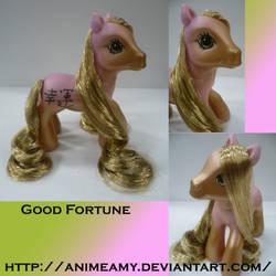 Kanji Pony Good Fortune