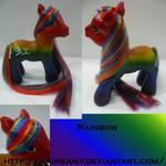 Kanji Pony Rainbow
