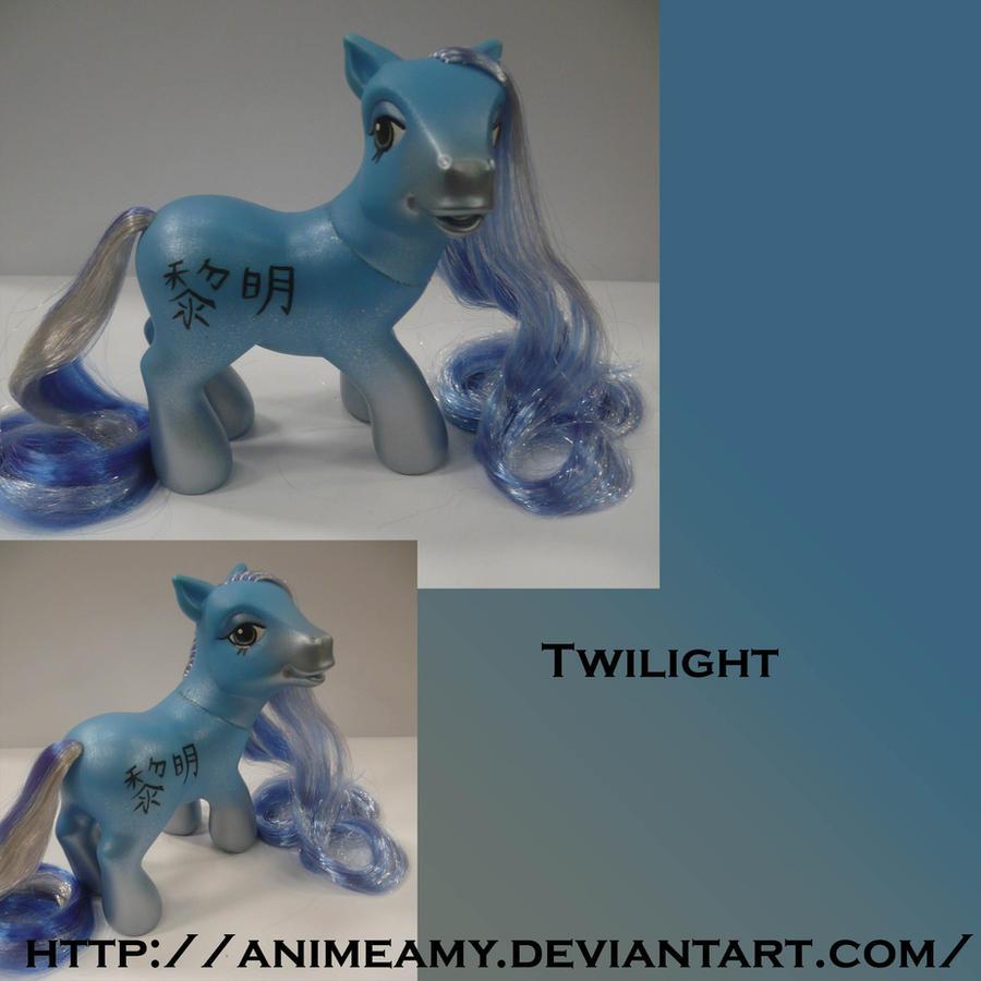 Kanji Pony Twilight by AnimeAmy