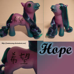 Kanji Pony Hope
