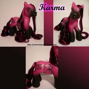 Kanji Pony Karma