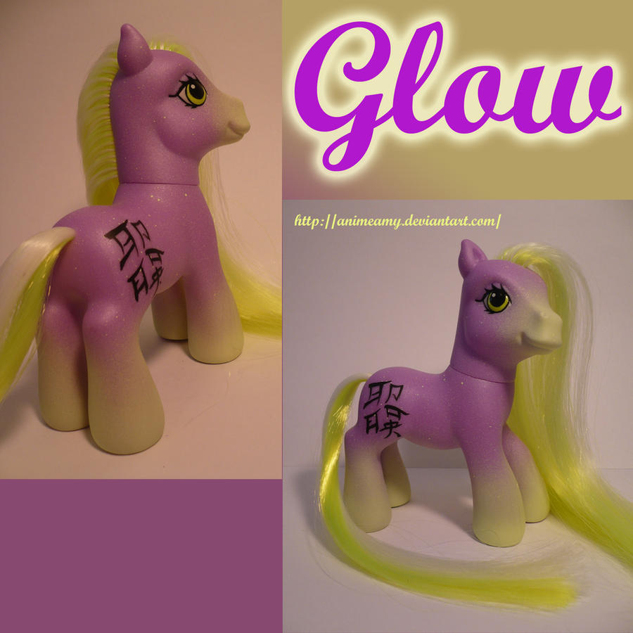 Kanji Pony Glow by AnimeAmy