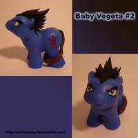 Baby Vegeta Pony 2 by AnimeAmy