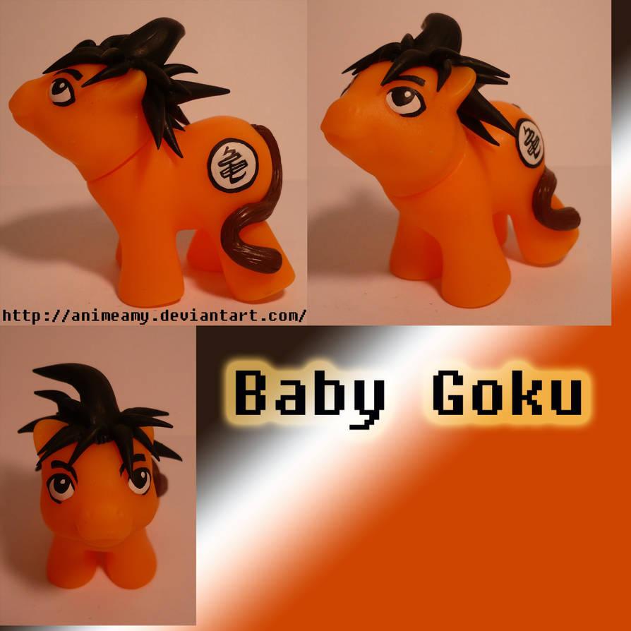 Baby Goku Pony by AnimeAmy