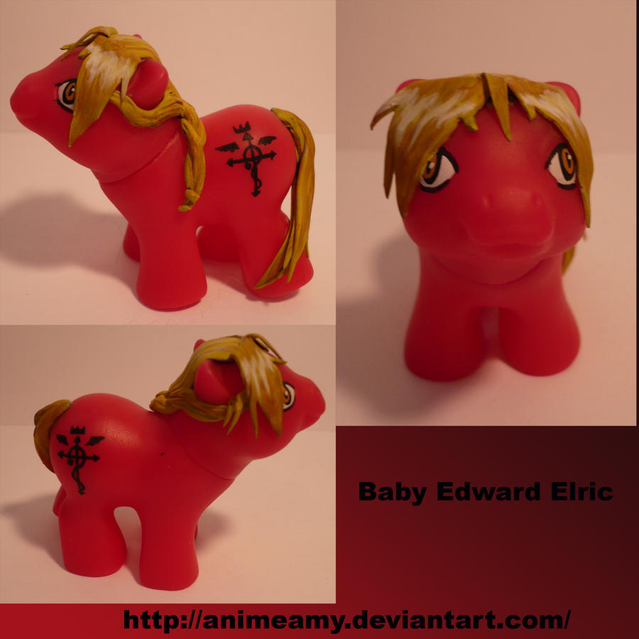 Baby Edward Elric by AnimeAmy