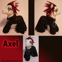 Axel From Kingdom Hearts by AnimeAmy