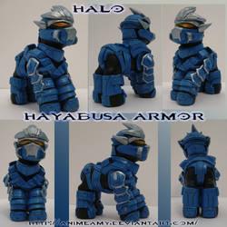 Master Chief Hayabusa Armor