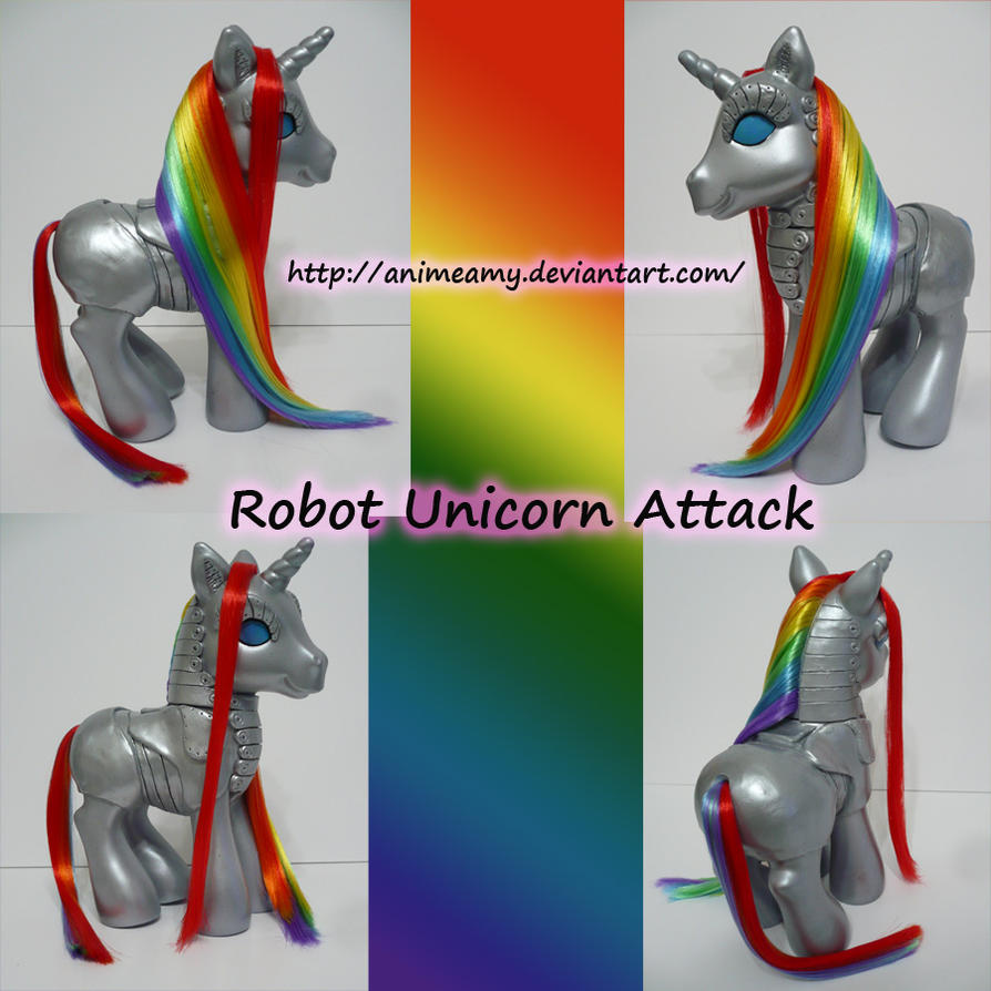 Robot Unicorn Attack by AnimeAmy