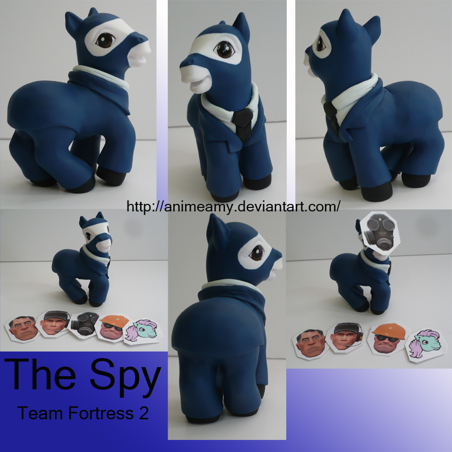 The Spy Team Fortress 2 by AnimeAmy