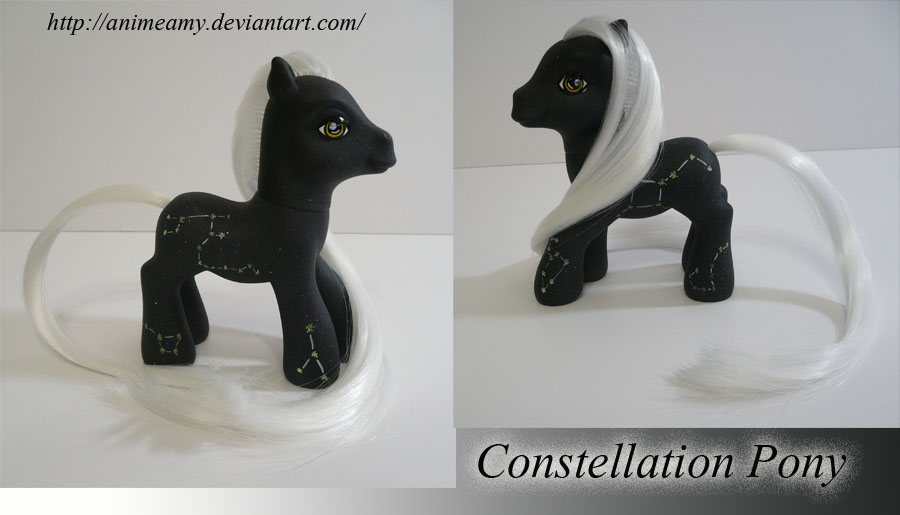 Constellation Pony by AnimeAmy