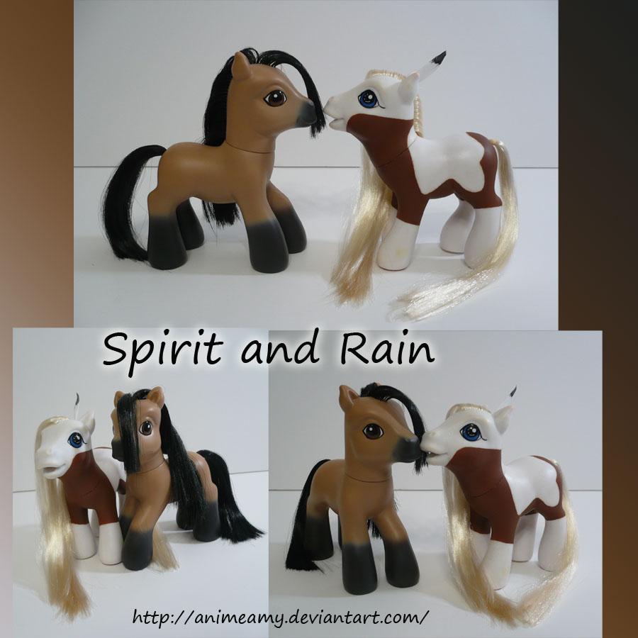 Spirit and Rain by AnimeAmy