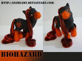 Biohazard Pony by AnimeAmy