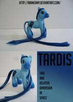 Tardis Pony by AnimeAmy