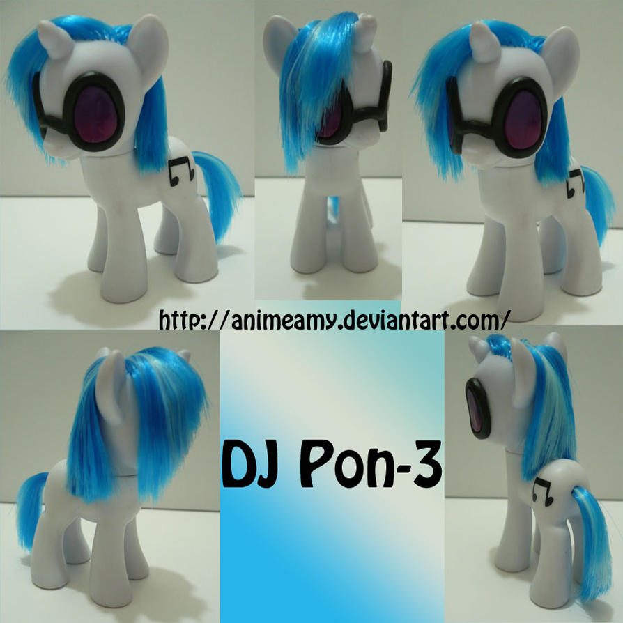 DJ PON-3 by AnimeAmy