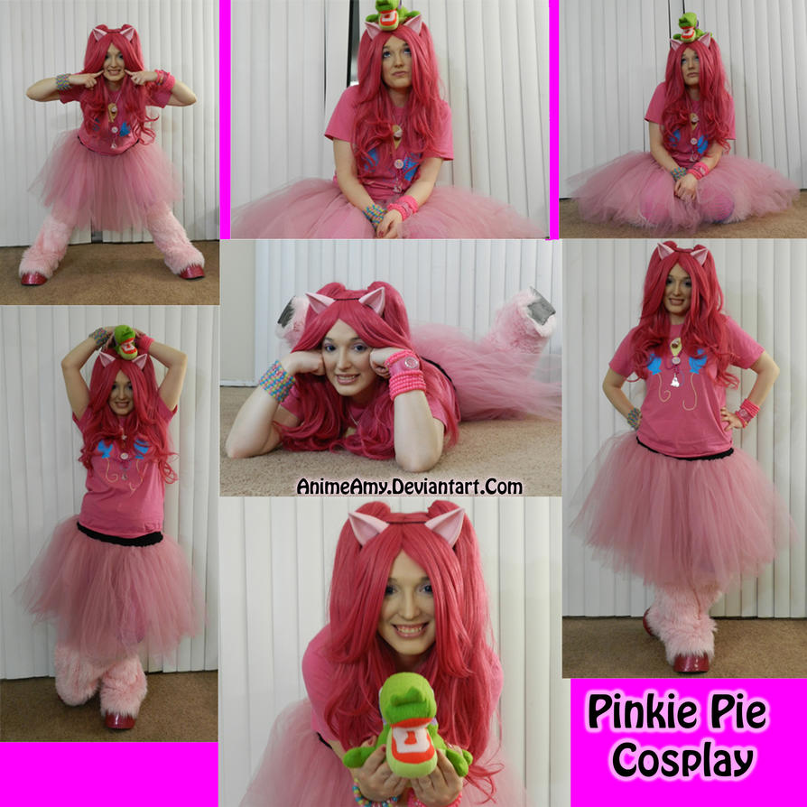 Pinkie Pie Cosplay by AnimeAmy