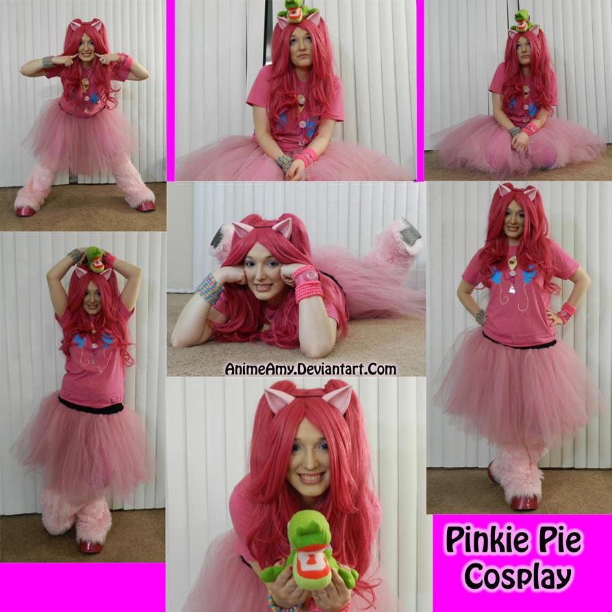 Pinkie Pie Cosplay by AnimeAmy
