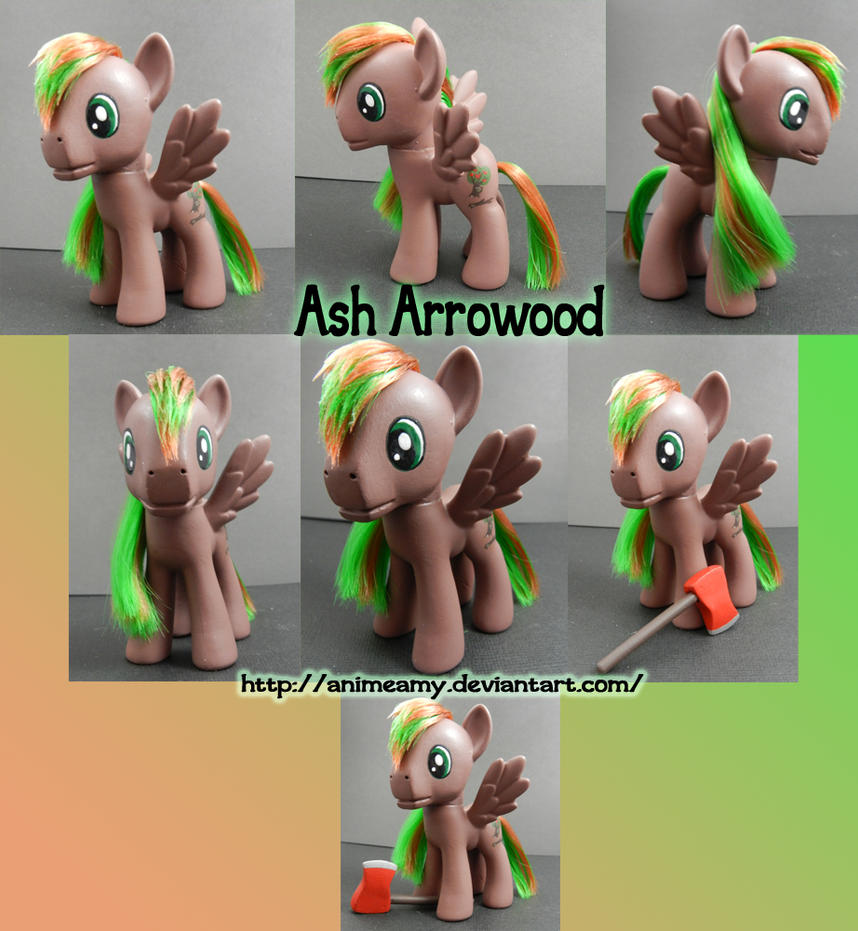 Ash Arrowood Custom Pony by AnimeAmy