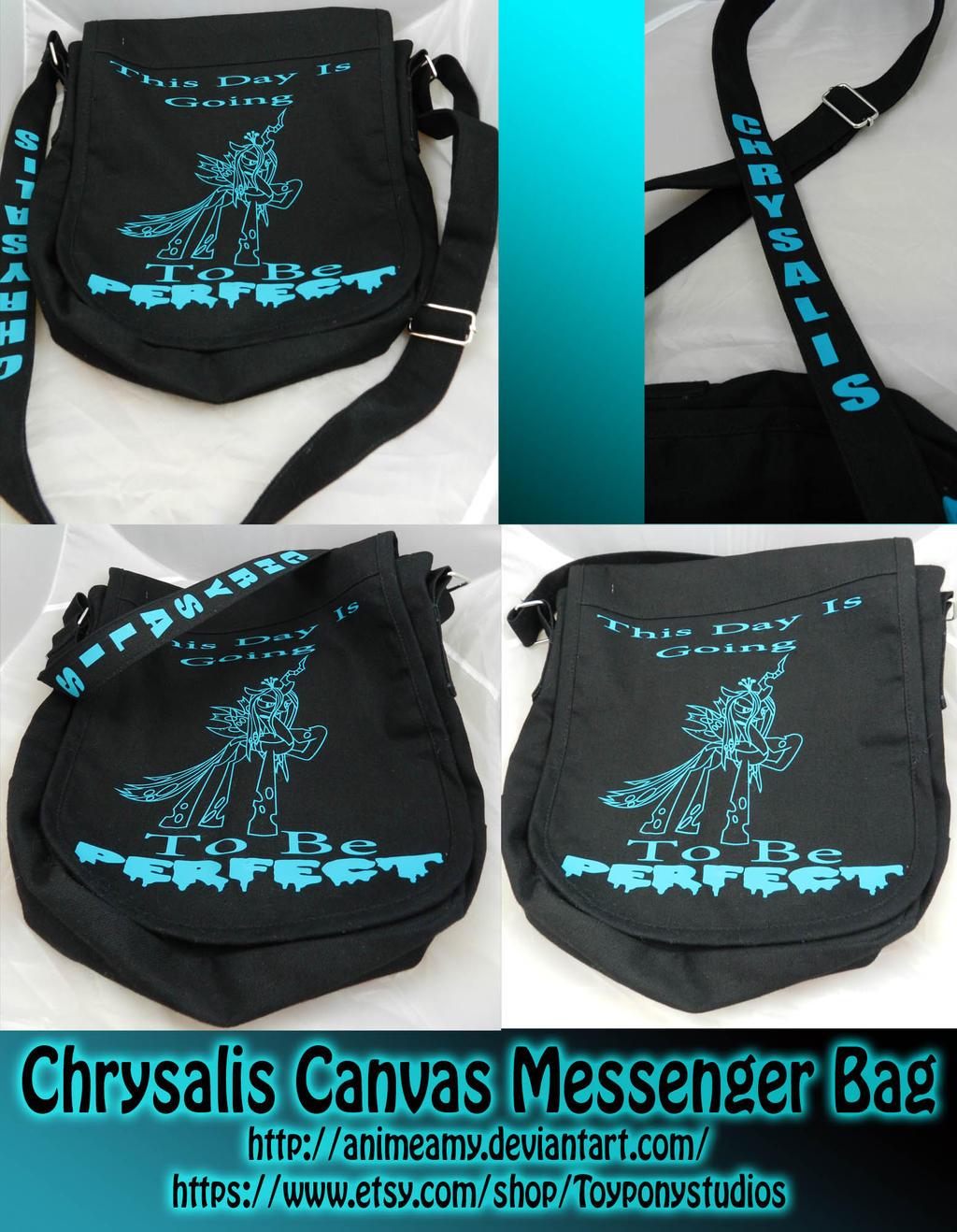 Chrysalis Messenger Bag by AnimeAmy