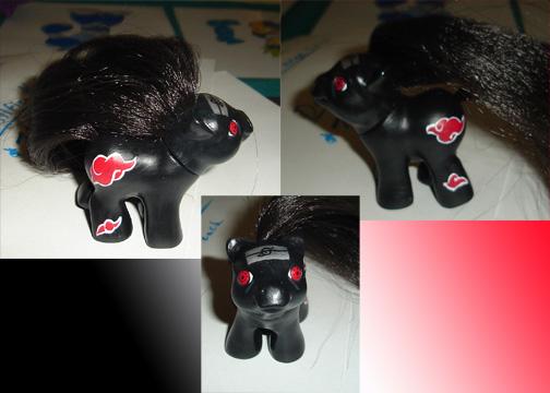 Itachi My Little Pony Custom by AnimeAmy