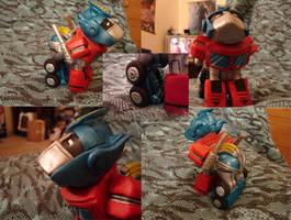 Optimus Prime Pony by AnimeAmy