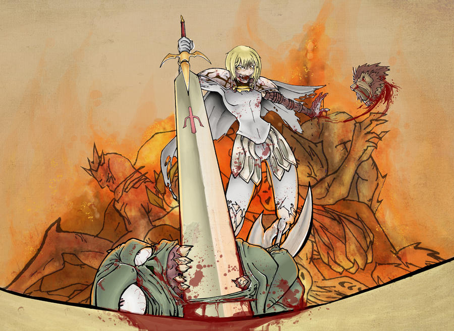 Claymore Clare -Bloody Frenzy-