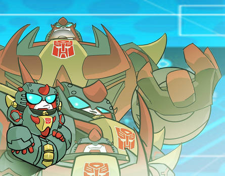 Transformers Animated-SNARL-