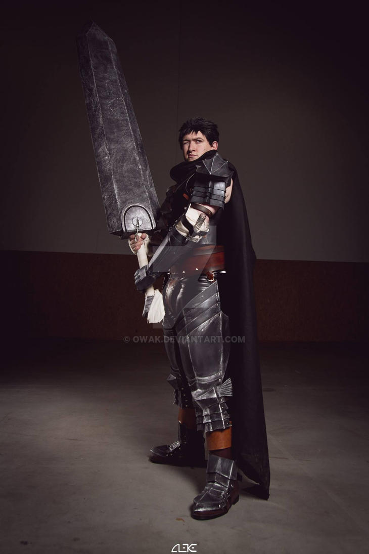 Guts cosplay by Owak
