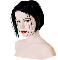 Kate Beckinsale Vector by Fel-Stalker