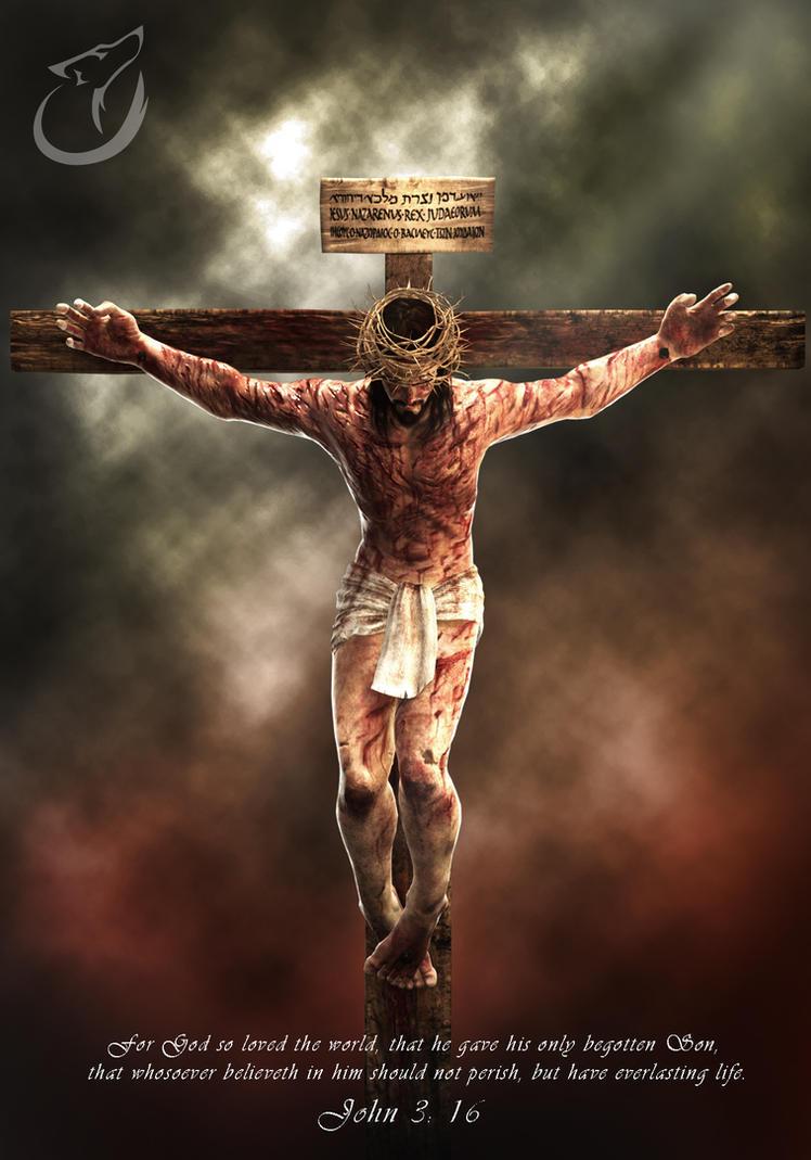 jesus crucifixion images  Jesus crucifixion by binusianwolf on DeviantArt