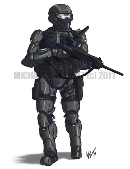 CATALYST - SDF Shock Trooper by Renerade