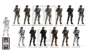 UEF Armed Forces - Camouflage Patterns by Renerade