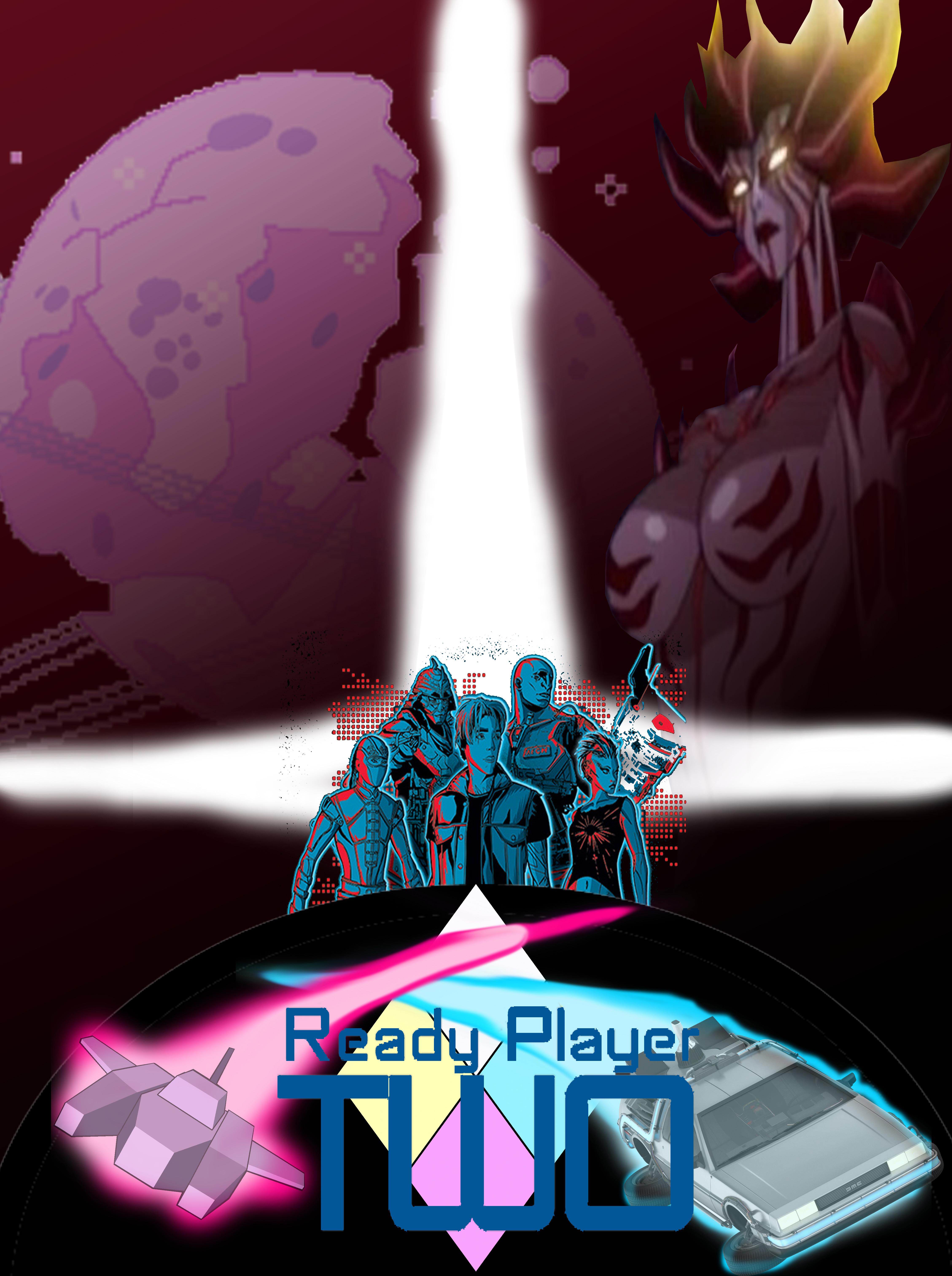 ready player two fan poster by ajsplatoon on deviantart deviantart