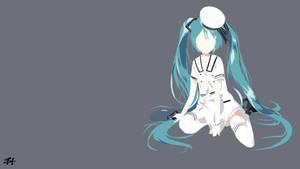 Sailor Hatsune Miku (Vocaloid) Minimalist
